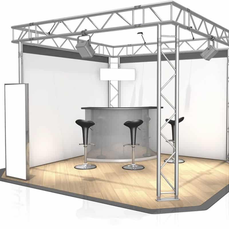 سازه های نمایشگاهی - سازه غرفه نمایشگاهی